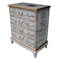 Mother of Pearl Chest Of 4 Drawers