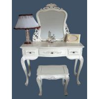 French Style Handcarved Lindenwood Furniture - Antique Ivory