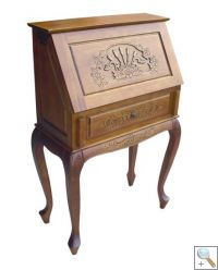 Handcarved French Bureau