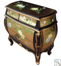 Gold Leaf Chest of Drawers